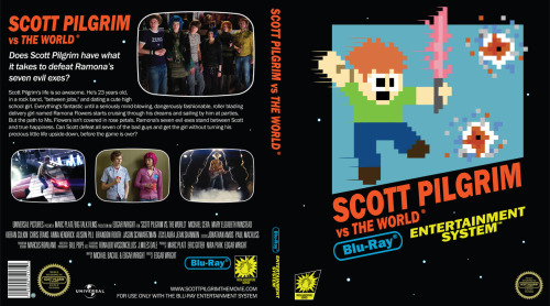 SCOTT PILGRIM VS. THE WORLD Custom Nintendo-Inspired Blu-ray Case Insert | Collider