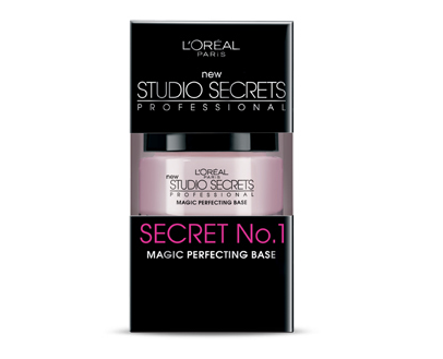 "L'OREAL STUDIO SECRETS PROFESSIONAL MAGIC PERFECTING BASE Trying to get a flawless look from skin that's bumpy, wrinkled, and/or slightly scarred is one of my biggest challenges. In my search for a solution, I discovered PRIMERS! As I'm always looking at both drugstore brand products as well as professional grade items, I came across this gem from L'Oreal at the pharmacy. It's called Studio Secrets Professional Magic Perfecting Base. It takes a lot of cajunas to include the word ""magic"" in any beauty product but after using it once you'll see why they can get away with it. This product helps prepare the face  by smoothing out imperfections creating a  polished and refined look to the skin. I've used this on a few photo and video shoots and for a wedding. Each time I used it people commented on how great the girls looked before I had even begun to apply the makeup. That's how well it works to even out the skin. The product itself has a silky yet matte feel to it - somewhere between a gel and a cream, like a whipped gel. It's pink in color but goes on colorless. When applying the base, I first make sure the skin is properly cleansed and moisturized. Then, using my fingers or a concealer brush, I glide it around the eyes and onto the eyelid to help smooth out wrinkles and/or bumps. I also make sure to cover areas where pores tend to be more visible such as the nose and the forehead and on any other imperfections.  After applying the base I continue to build the rest of the look as usual, always being careful to stipple rather than brush on makeup to avoid wiping off any of the base. Once I realized the power of this product I researched and found that the majority of professional makeup lines such as Makeup Forever and MAC Cosmetics each carry different kinds of primers. I plan to review those in the future. In the meantime, I very much recommend this product. Just a few weeks ago I used it for a video shoot on an actor who had fairly deep pimple scars. Immediately after applying it to her face she wanted to know where to buy it and even commented that it was indeed ""magic"". To check out L'Oreal's instructional videos for their Studio Secrets line, go to the one titled: The Perfect Skin Texture. Studio Secrets Professional Magic Perfecting Base retails for around $12.99."