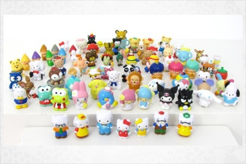 Small Gift 90 Piece Collectible Mini Figurine Set - $200