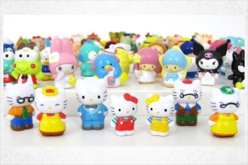 Small Gift 90 Piece Collectible Mini Figurine Set