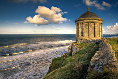 allthingseurope:  Mussenden Temple, Castlerock, Northern Ireland source