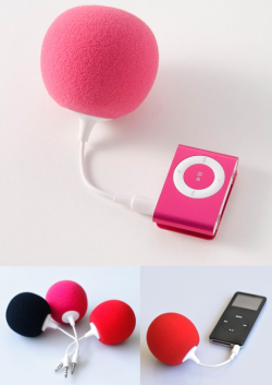 szymon:  music balloon speaker