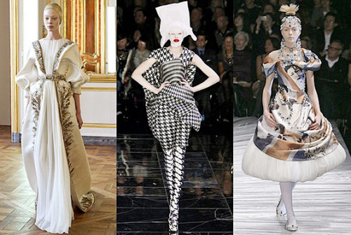 The Met Costume Institute is opening an Alexander McQueen exhibit  in May. Sure to be amazing