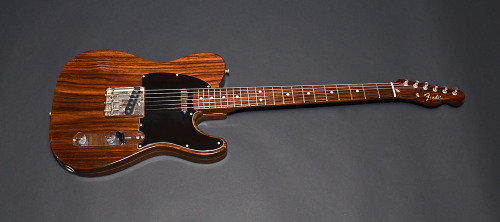 "The famous 1968 Rosewood Telecaster, otherwise known as George Harrisson's ""let it be"" guitar."
