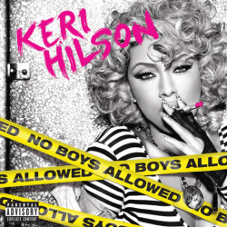 yakk:  Here is the album cover for Keri Hilson's sophomore album 'No Boys Allowed'.    Yes! Love you ms keri <3