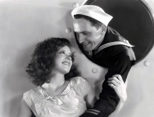 Clara Bow and Fredric March True To The Navy - (1930)