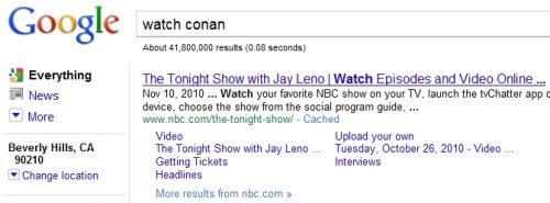 thedailywhat:  Search Result of the Day: What is this about? [popwatch.]  I smell a conspiracy.