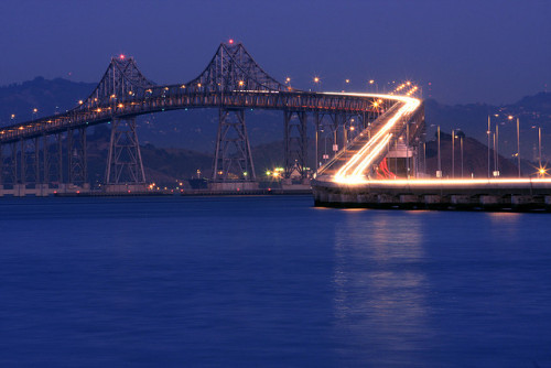 San Rafael Bridge, Richmond, California by A Sutanto
