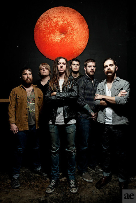 Underoath Photoshoot. (Photo by Adam Elmakias)
