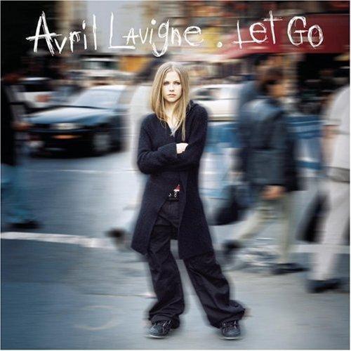 Cover Art for Avril Lavigne's Goodbye Lullaby Released Avril Lavigne - Let