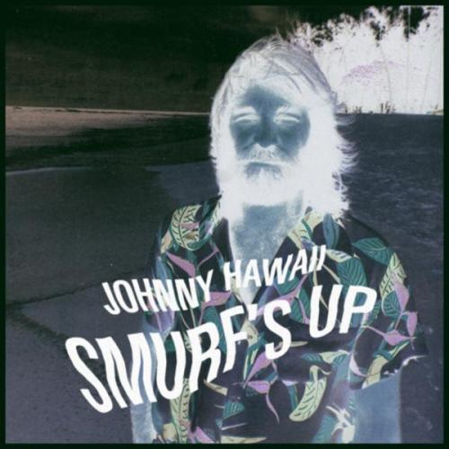 "Johnny Hawaii - Smurf's Up EP Sometimes you listen to something and can't help smiling. That's how I feel with Johnny Hawaii. Here's a short, four-song EP that, like a wonderful beach vacation, is over all too soon. The warmth of the sun just radiates off of these four songs in an almost palpable way. The music follows a fairly simple concept. Beach rock guitar riffs with looped tropical/exotica samples. He even throws some sound clips of waves crashing in there for added mental imagery. If you're a fan of the tropical stylings of folks like Monster Rally or LAY BAC, then I would highly recommend Johnny Hawaii. It's a pleasure cruise, man. You can download the free EP on bandcamp. **Previously seen (many moons ago) on Unholy Rhythms** mp3: ""The Lonely Smurfer"""
