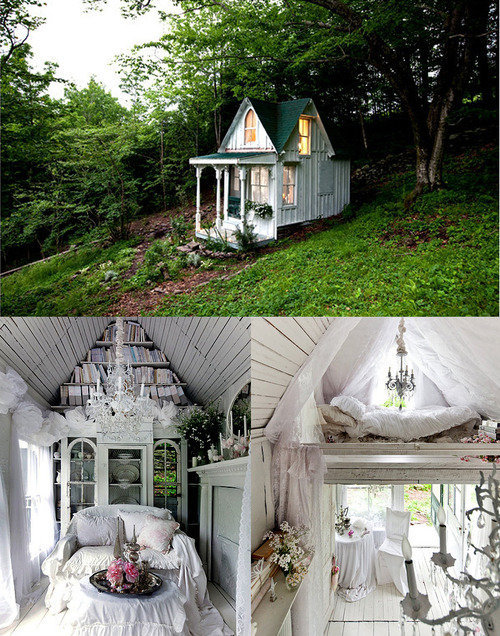 A Tiny Treasure {…retreat in the woods…}