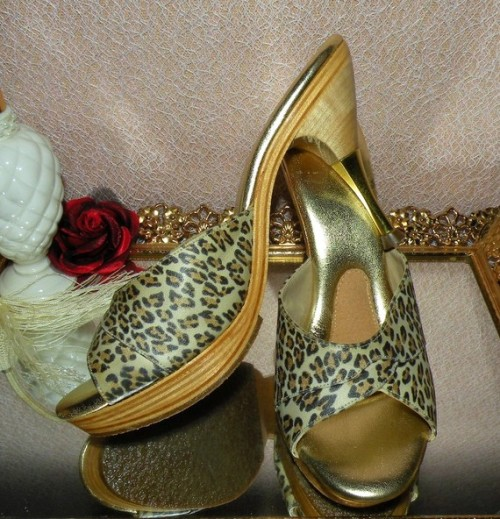 Hollywood cha cha leopard heels… bring out the bad girl in you.