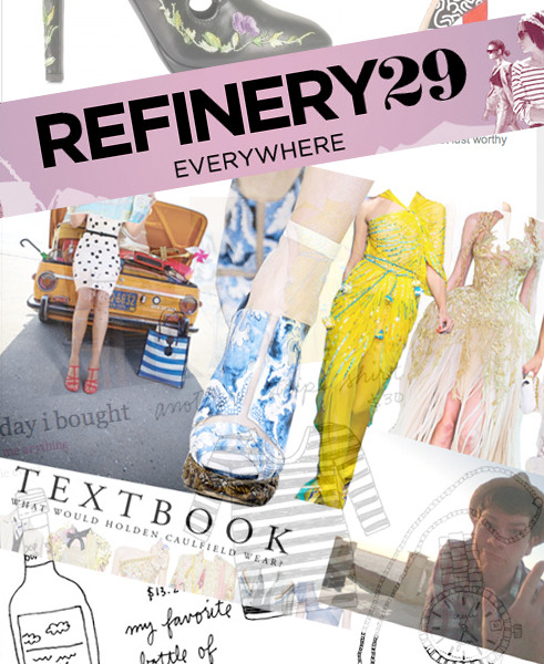 Let me just voice my undying adoration and appreciation of Refinery29.com. Thank you so much for including me in the round-up of the best fashion tumblrs to follow. Honored to be listed among some of my favorites: Katie Evans' (dear friend of mine) and http://todayibought.tumblr.comThe unnamed hero of http://fuckyeahmenswear.tumblr.comWhoever runs the unparalleled footwear collection at http://shoelust.tumblr.comThe never-ending scrap book of cool at http://theimpossiblecool.tumblr.comFollow them and thank you all for you generous support over the past 14 months!