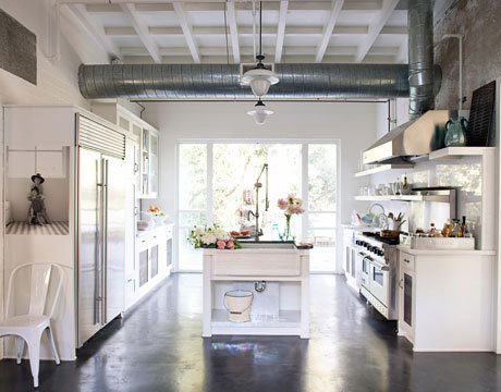 One of Rachel Ashwell's kitchens - as one needs more than just one kitchen, as one does.