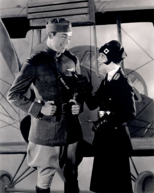 Buddy Rogers and Clara Bow Wings - (1927)