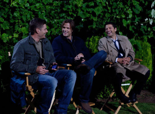 modeztgirl:  Jensen, Jared and Misha