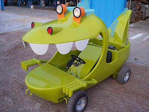 sharpiesarecool The Reptar Wagon in real life