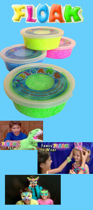 Nickelodeon Floam (thx poorgirlsdream)