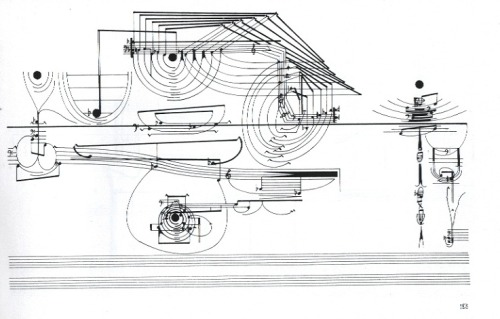 cornelius cardew's graphic score for treatise