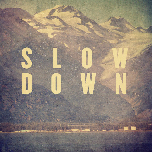 dashedlines:  slow down (by pope saint victor)