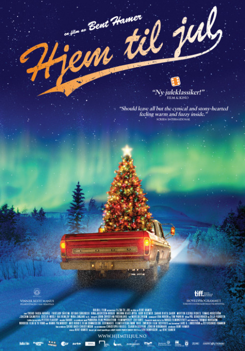 "This Norwegian take on a christmas story by director Bent Hamer, premieres in cinemas today. I went to see it at a screening earlier this week, and it is truly amazing. Would recommend everyone who has the chance to go see it. It is beautifully made, delicately focusing on tender and bright aesthetics in it portrayal of heartfelt humanity. One of the best christmas films to date. (And I'm not just saying that because I'm Norwegian). Click the photo to listen to the theme song, ""Home for Christmas"" (which is also the international movie title), by Norwegian singer/ songwriter, Maria Mena."
