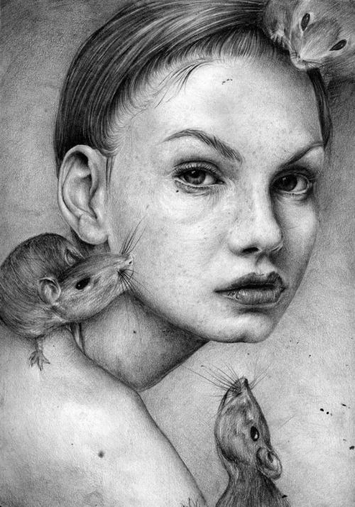 Pencil Art by T. S. Abe