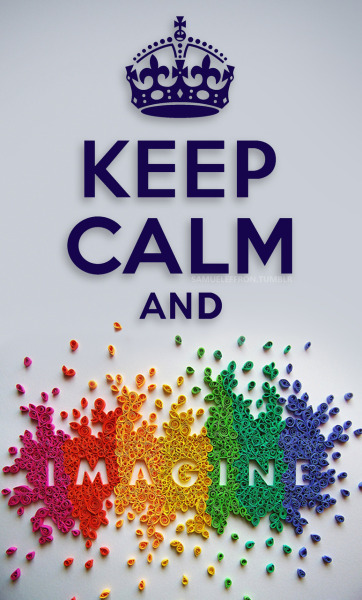 samueleffron:  KEEP CALM AND IMAGINE Click image to view KEEP CALM AND WHIP YOUR HAIR by samueleffron