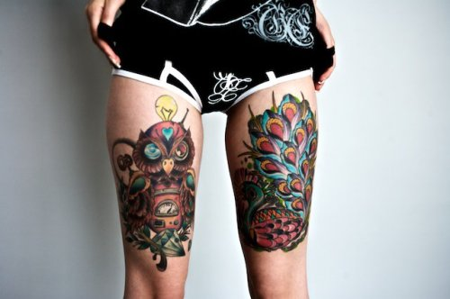Tattooed Legs!