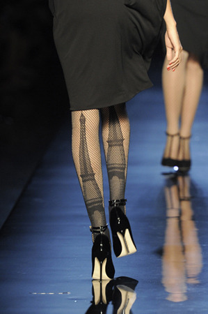 Gaultier's Eiffel Tower Stockings