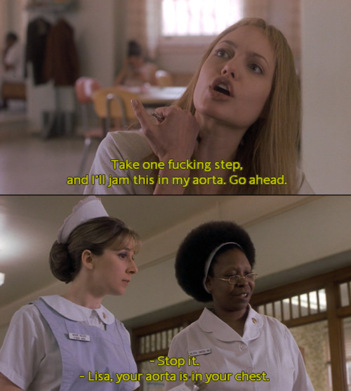 Rá! movieoftheday:  Girl, Interrupted, 1999