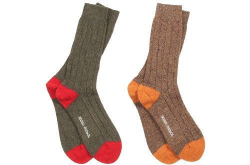 Scott-Nichol Short Heel and Toe Socks