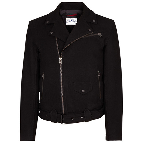 Levi's Black Wool Biker Jacket