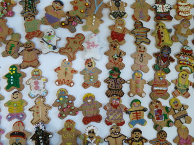 Here's a selection of the gingerbread men i've had decorated so far.