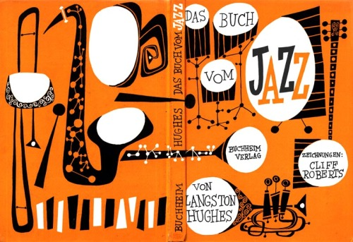 theoinglis:  illustrations by Cliff Roberts for 'the first book of jazz' by Langston Hughes -1955