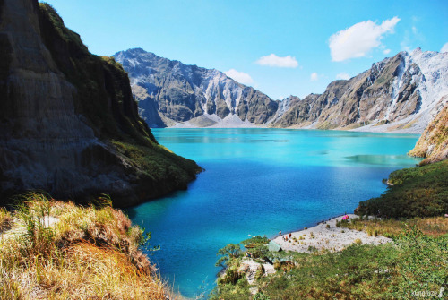 Mt.Pinatubo, Philippines submitted by: http://danicattack.tumblr.com, thanks!