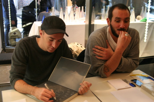 More photos of KAWS at the Colette signing. (via coletteteam)