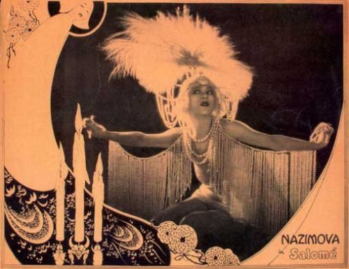 - Alla NazimovaIn 'Salome' (1923)via Orchid Thief(good collection of Salomeart/photos here)