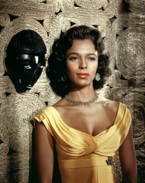 dorothy dandridge in island in the sun, 1954