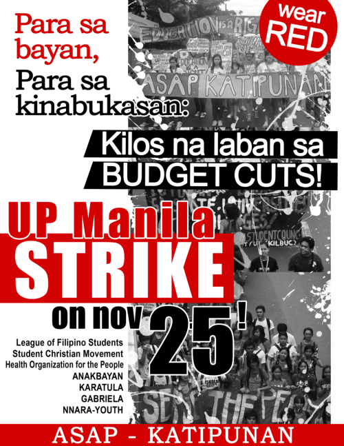 JOIN THE STUDENT STRIKE ON THE 25TH!