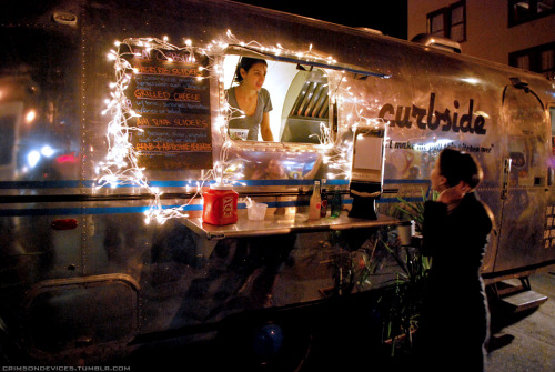 A shot of the Curbside trailer at Off The Grid San Francisco, CA http://offthegridsf.com/