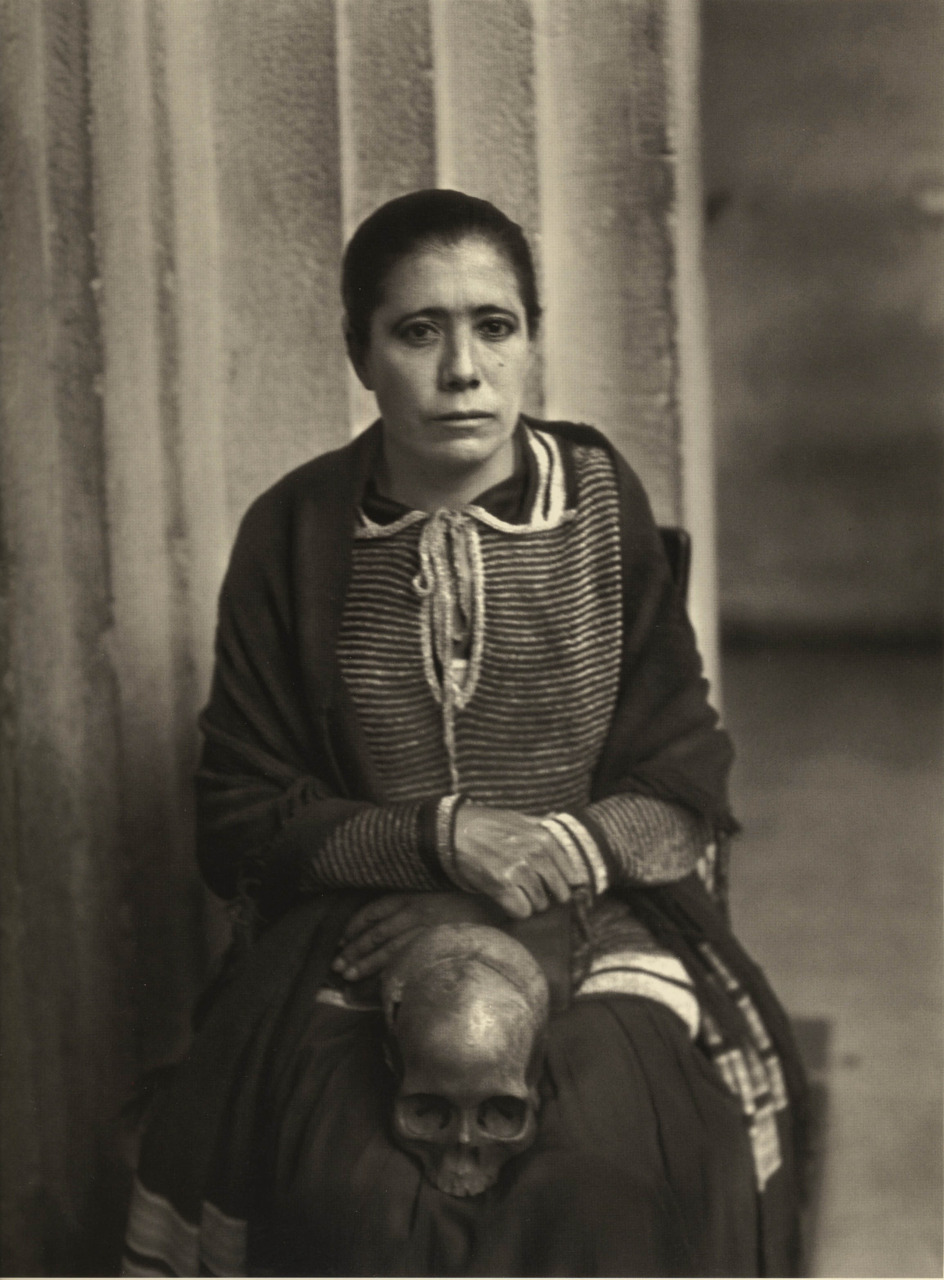 Woman accused of witchcraft. Mexico City, ca. 1935