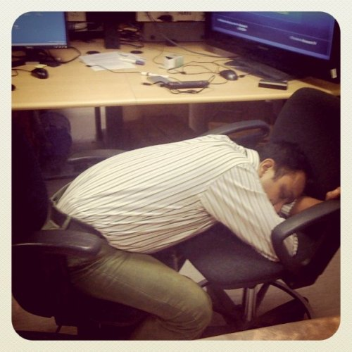 Life of a software engineer….is painful! (Taken with instagram at Intel - Sarjapur Road)