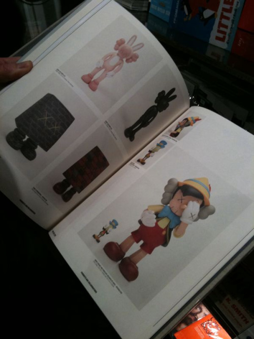Here's a look at what you can find in the KAWS book.
