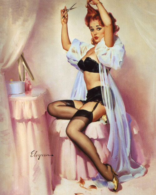 Pin up, por Gil Elvgren