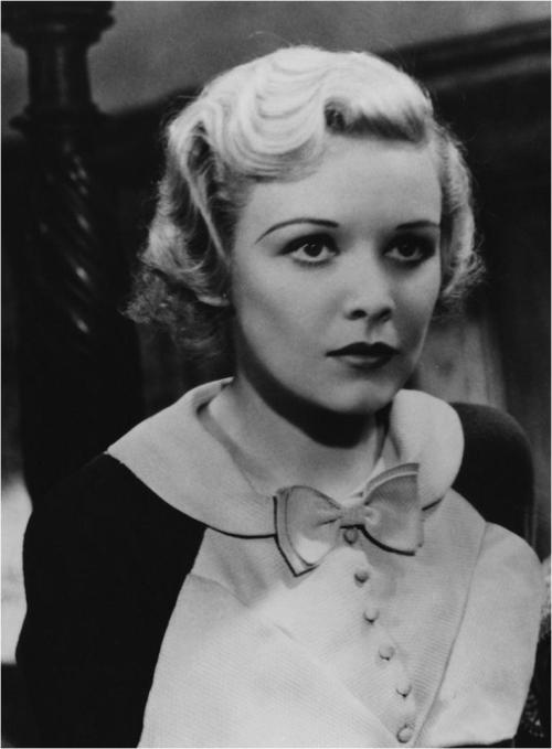 Madeleine Carroll in Hitchock's The 39 Steps (1935) Image Source
