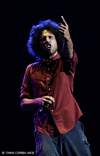 Zack de la Rocha from Rage Against The Machine By Tomás Correa Arce (http://www.tommyboy.com.ar)