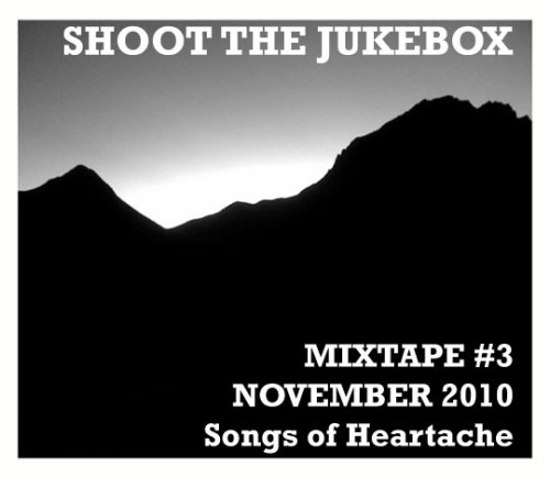 Our next Shoot The Jukebox LIVE show will be this TUESDAY NOVEMBER 16, 2010 at The Commodore in Williamsburg, Brooklyn from 9pm - 1am. It's free, there's delicious fried chicken, cheap drinks, great old country tunes and maybe even a little dancing. This month's mixtape is all about heartache, a subject that country music knows well. Listen below by pressing PLAY / Download for free by pressing the little downward ARROW on the middle of the right side.    Mixtape #3 - November 2010 - Songs of Heartache by Shoot The JukeBox Track Listing: 1. George Jones - The Race Is On 2. Randy Travis - Diggin' Up Bones 3. Freddy Fender - Wasted Days & Wasted Nights 4. Merle Haggard - No More You & Me 5. Lefty Frizzell - She's Gone, Gone, Gone 6. Marty Robbins - Devil Woman 7. Hank Williams - Your Cheatin' Heart 8. Charlie Pride - Is Anybody Goin' To San Antone 9. Dwight Yokam - Cryin' Time 10. Patsy Cline - Three Cigarettes In An Ashtray 11. Kris Kristofferson - Sunday Mornin' Comin' Down 12. Roger Miller - Invitation To The Blues 13. Carl Smith - Kisses Don't Lie 14. Don Rich - Out Of My Mind 15. Johnny Cash (featuring Nick Cave) - I'm So Lonesome I Could Cry PS: My apologies for no October Mixtape…esp to Brock and Astronautalis. But, this one's longer!