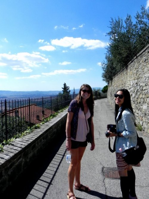 Florence throwback… 1st Saturday in Fiesole