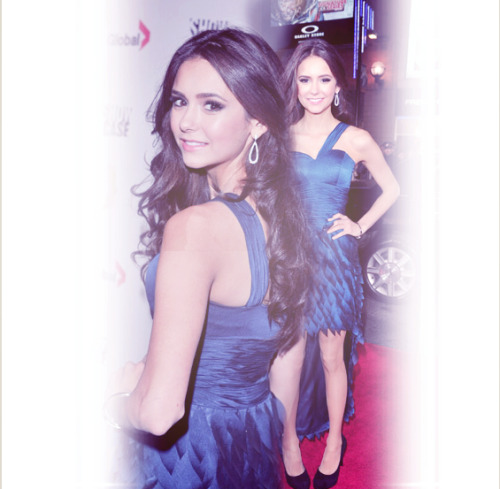 serenachan:  Nina Dobrev - 25th Gemini Awards Arrivals